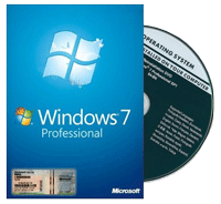 Phần mềm Windows 7 Professional  SP1 English OEM