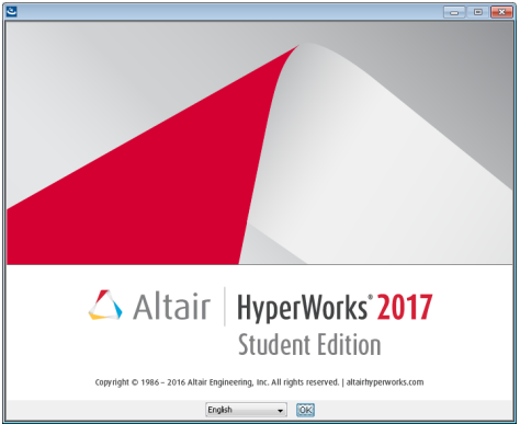 HyperWorks 2017 Student Edition Quick Installation Guide