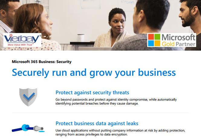 Microsoft 365 securely run and grow your Business